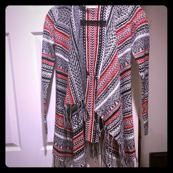 Altar'd State Sweaters - Altar'd State fringe cardigan